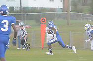 Water Valley's Derrick Brady (80) scores vs. Senatobia in Water Valley, Miss. on Monday, September 23, 2013. Water Valley won 45-7 to improve to 5-0.