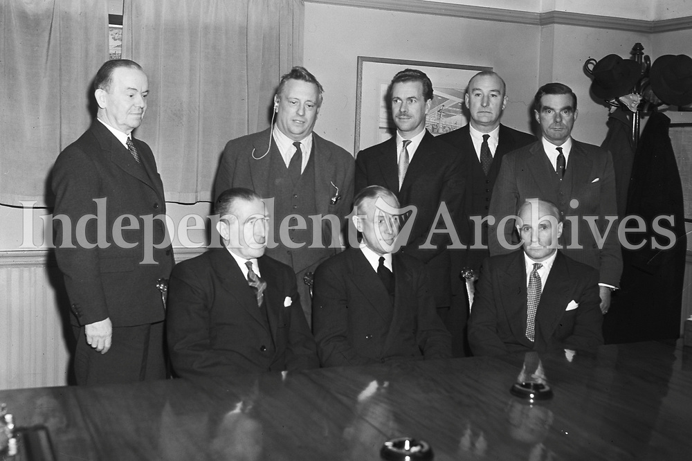 Directors and Editors of Independent Newspapers 14/11/1956 (Part of the Independent Ireland Newspapers/NLI Collection)