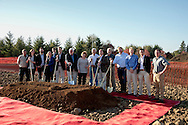 Domaine Serene ground breaking for new clubhouse, Dundee Hills AVA, Willamette Valley, Oregon