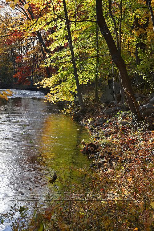 River in Sloatsburg.