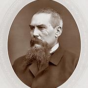 19th Century British Explorer Captain Sir Richard Burton Translator of the Kama Sutra and explorer of the Nile River