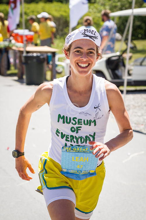 The Great Run Marathon and 6-Hour Race: , Leah Frost,