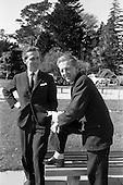 1963 - Esso staff at Esso Petroleum (Ireland) , Stillorgan, Dublin