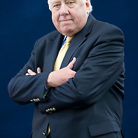 Roy Hattersley, former politician, and author. Edinburgh International Book Festival, Edinburgh, Scotland. Edinburgh is the inaugural UNESCO City of Literature.