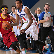 Delaware 87ers Guard JORDAN MCRAE (4) dribbles the ball down the floor in the second half of a NBA D-league regular season basketball game between the Delaware 87ers and the Canton Charge Tuesday, JAN, 26, 2016 at The Bob Carpenter Sports Convocation Center in Newark, DEL.<br /> <br /> Delaware 87ers guard Jordan McRae broke the NBA minor league&rsquo;s single-game scoring record going 21-34 finishing with 61 points in a 130-123 overtime win over the Canton Charge.