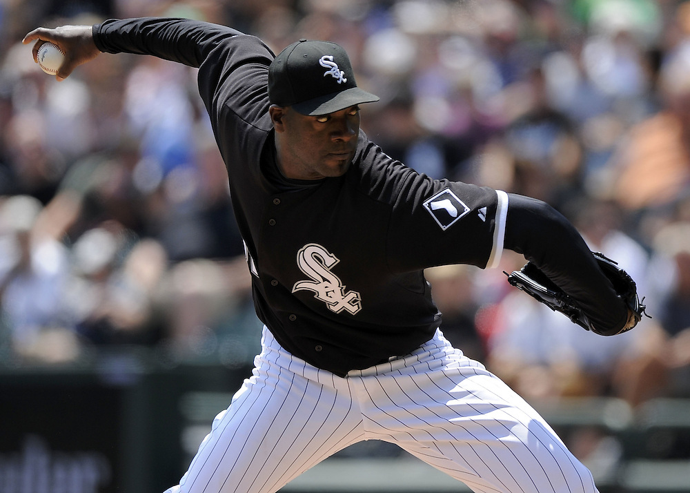 CHICAGO - JULY 19:  Jose Contreras #52 of the Chicago White Sox pitches against the Baltimore Orioles on July 19, 2009 at U.S. Cellular Field in Chicago, Illinois.  The Orioles defeated the White Sox 10-2.  (Photo by Ron Vesely)