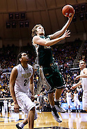 WEST LAFAYETTE, IN - DECEMBER 29: Tim Rusthoven #22 of the William & Mary Tribe shoots the ball as A.J. Hammons #20 of the Purdue Boilermakers watches at Mackey Arena on December 29, 2012 in West Lafayette, Indiana. Purdue defeated William & Mary 73-66. (Photo by Michael Hickey/Getty Images) *** Local Caption *** Tim Rusthoven; A.J. Hammons