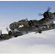 B-17 air-to-air