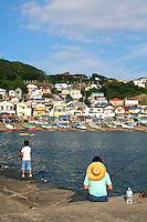 Japanese Fishing at Kotsubo Port