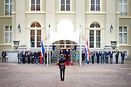PRESIDENT HOLLANDE VISIT THE NETHERLANDS AND MEETS KING WILLEM ALEXANDER