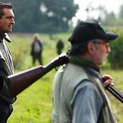 Partridge hunting in Belgium