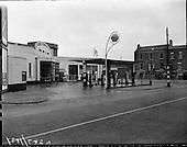 1960 - Exterior of Auto Services Garage, Harcourt Street.  B287.
