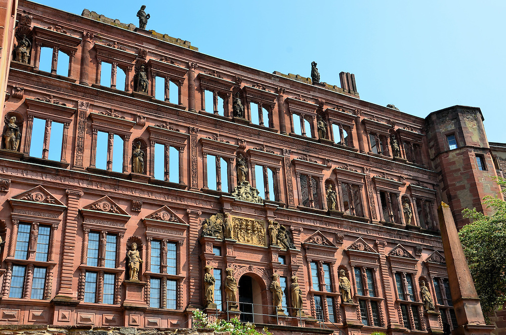 how to get to heidelberg castle from frankfurt