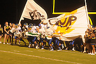 Oxford High takes the field vs. Center Hill in Olive Branch, Miss. on Friday, September 21, 2012. Oxford High won.