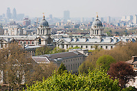 greenwich in april 2009