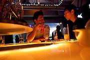 Gay men in Bar Dragon