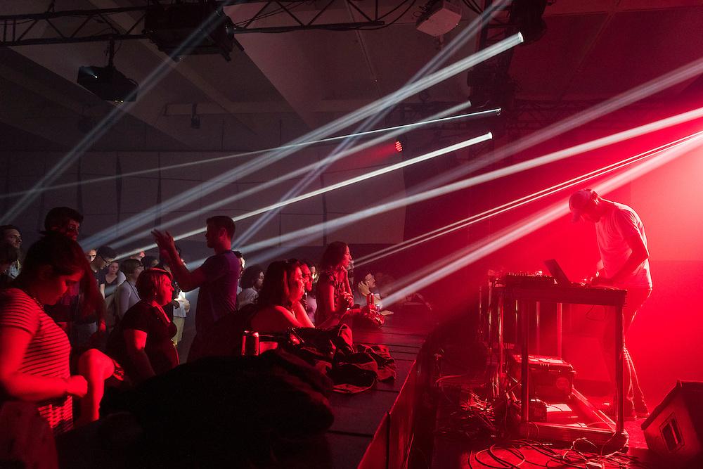 NOCTURNE 4, Musée d'art contemporain de Montréal (MAC), Salle Principale, Powell.