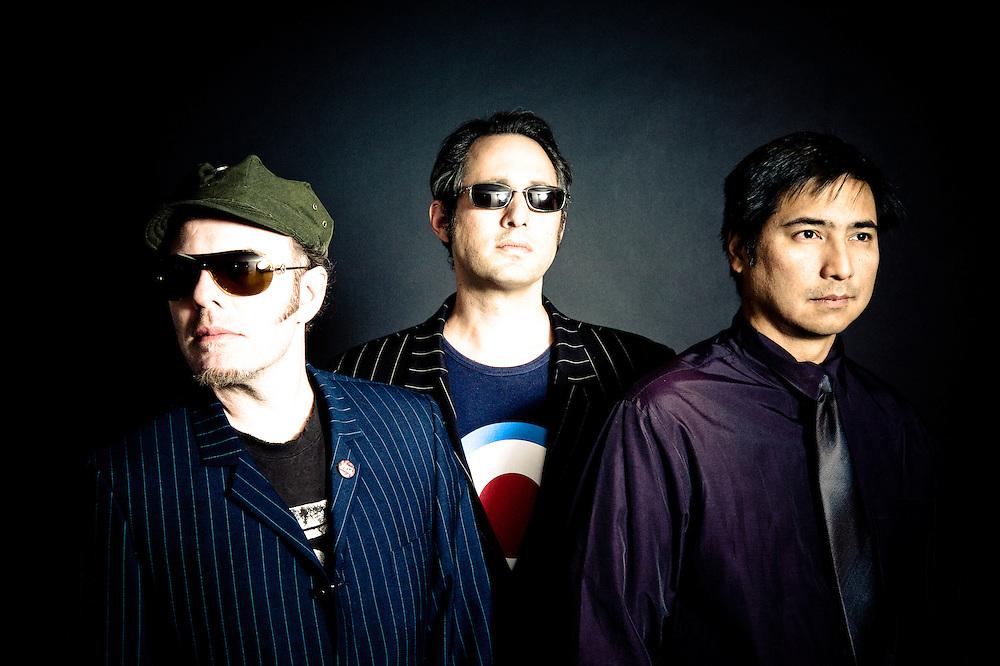 Thunderball: (l-r) Rob Myers, Steve Raskin, Sid Barcelona.  Fort Knox Recordings