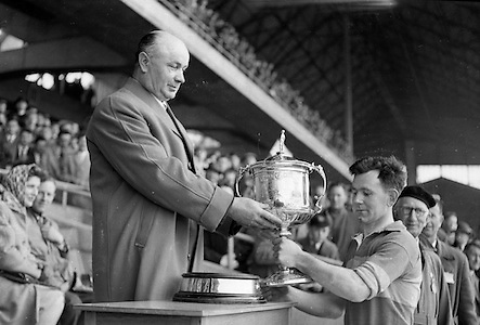 National League Final, Tipperary v Waterford..Tipperary - Champions.07.05.1961