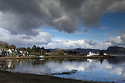 The picturesque village of Plockton, in the north-west Highlands of Scotland