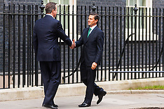 2015-03-04 Mexican President arrives at Downing Street for working lunch with Cameron