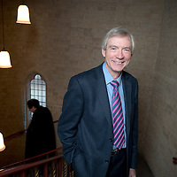UK. London. LLUK Council Meeting at St Andrew's Church..Photo shows Sir David Melville, Chair of the meeting..