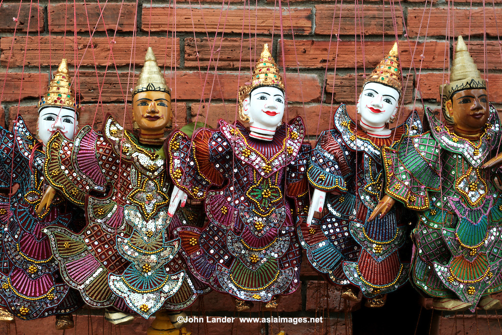 Thai Puppets at Sunday Market, Chiang Mai