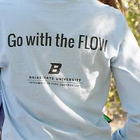 IBO, Boise River, Murdock grant recipient Steve DeMers, Boise State Students Elizeth Cinto Mejia, Michael Brownlee, Nate Acevedo,   John Kelly photo