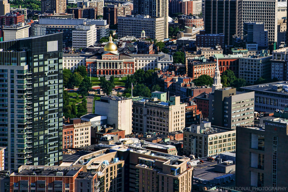 Massachusetts State House, Downtown Boston