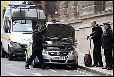 NOV 18 2013 Police car jumped started