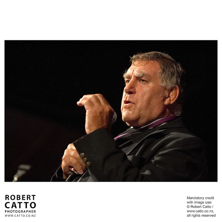Colin 'Pinetree' Meads at the British &amp; Irish Lions v. All Blacks Third Test at Eden Park, Auckland, New Zealand.<br />