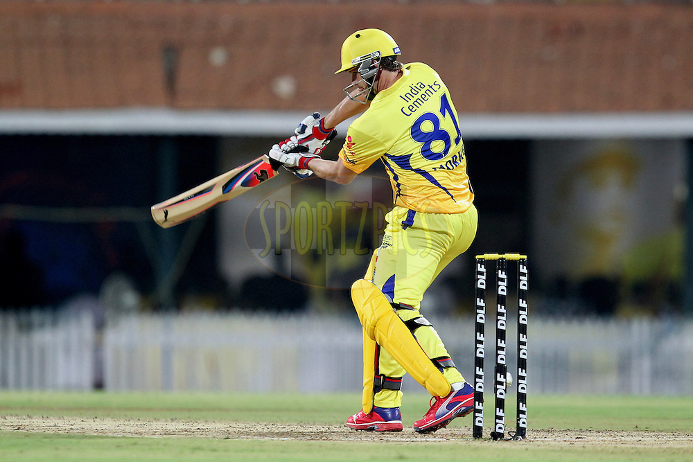 A. Morkel during match 46 of the the Indian Premier League ( IPL) 2012  between The Chennai Superkings and the Deccan Chargers held at the M. A. Chidambaram Stadium, Chennai on the 4th May 2012..Photo by Prashant Bhoot/IPL/SPORTZPICS