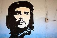 Image of Ernesto Che Guevara in Las Martinas, Pinar del Rio, Cuba.