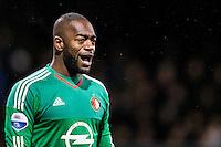 ROTTERDAM - SBV Excelsior - Feyenoord , Voetbal , Seizoen 2015/2016 , Eredivisie , Stadion Woudestein , 28-11-2015 , Keeper van Feyenoord Kenneth Vermeer
