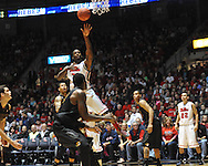 "Ole Miss' Murphy Holloway (31) vs. Missouri at the C.M. ""Tad"" Smith Coliseum on Saturday, January 12, 2013. Ole Miss defeated #10 ranked Missouri 64-49."