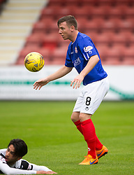 Cowdenbeath's Declan Hughes. <br /> Dunfermline 5 v 1 Cowdenbeath, Scottish League Cup game played today at East End Park.