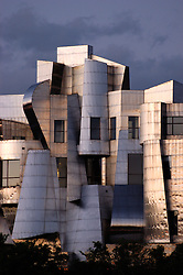 Photograph of the Frederick R. Weisman Art Museum designed by Architect Frank Ghery