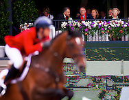 NETHERLANDS - Dutch King Willem Alexander and Queen Maxima attends the Longines Grand Prix Port of Rotterdam sunday with the three princesses Amalia , Ariane and Alexia  and the Japanese prinses Mako.