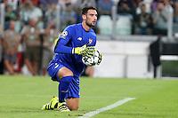 14.09.2016 - Champions League - Juventus-Siviglia - nella foto : Sergio Rico - siviglia