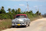 Car in Velasco, Holguin, Cuba.