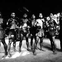 USE ARROWS &larr; &rarr; on your keyboard to navigate this slide-show<br /> <br /> Yangon, Myanmar May 2006<br /> Boxing fighters of the KLN boxing school. <br /> Photo: Ezequiel Scagnetti