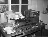 1958 – 16/04 Arms and Radio Transmitter Seized by Gardai
