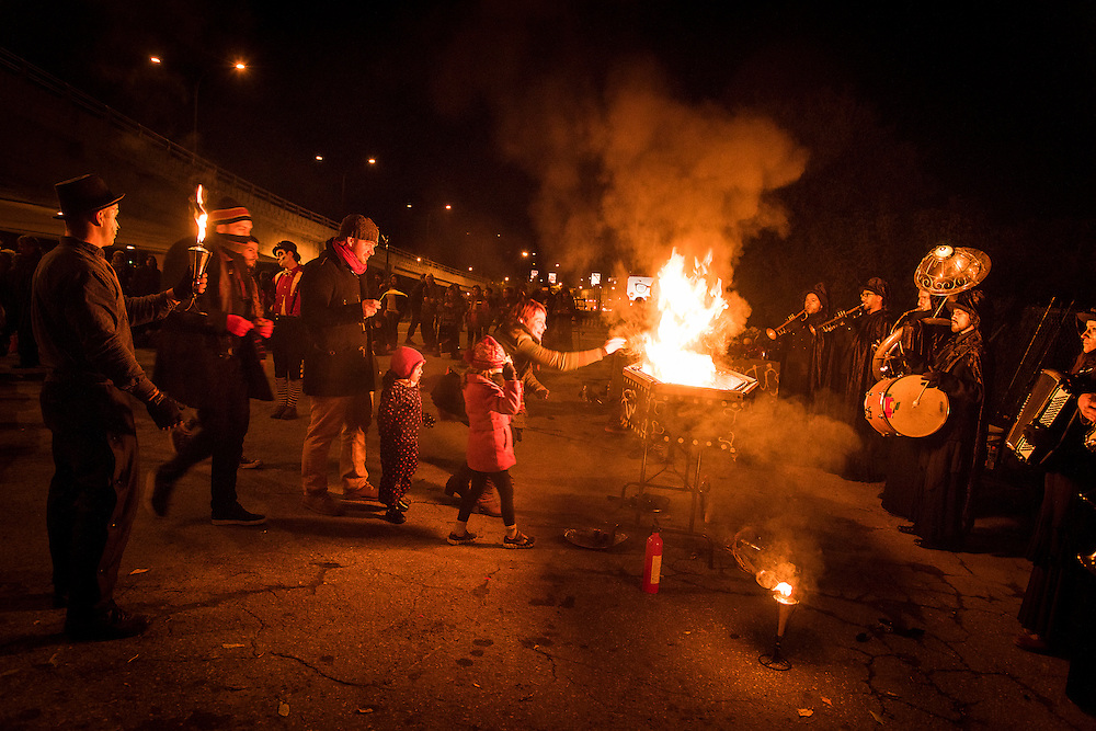Les Beaux-Morts du Fjord sont en Feu, Viaduc Saint-Laurent / Van Horne, Samedi 17 octobre 2015