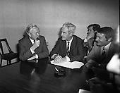 1971 - 02/12 Harold Wilson meets Brendan Corish, Labours TDs
