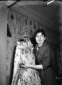 1954 Miss Hilda Larkin, Teacher at the Grafton Academy of Dress Design