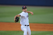 Mississippi's Matt Crouse pitches vs. Southern Mississippi at Oxford-University Stadium in Oxford, Miss. on Tuesday, April 20, 2010. Ole Miss won 7-2. Crouse gave up 1 hit in 6 innings.