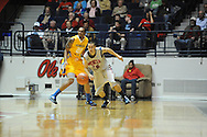 "Ole Miss' Marshall Henderson (22) vs. McNeese State's Adrian Fields (20) at the C.M. ""Tad"" Smith Coliseum in Oxford, Miss. on Tuesday, November 20, 2012. .."