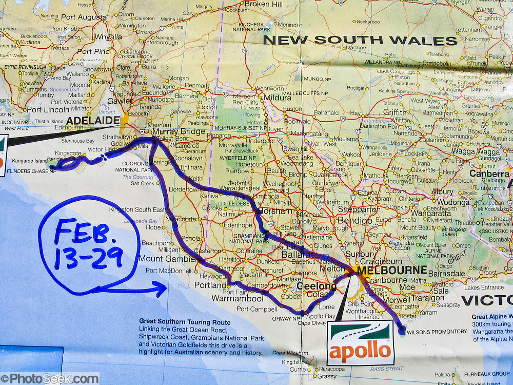Map South Australia And Victoria – Australia Ocean Map