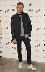 Fletcher Conway attends March of the Mods launch party to celebratethe launch of  Richard Weight's new Green Label Collection and book at Gibson Lounge, Eastcastle Street, London, W1 on Wednesday 11 February 2015