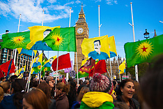2014-10-11 Thousands of Kurds demonstrate in London against ISIS